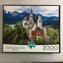 Buffalo Games Neuschwanstein Castle Bavaria 2000 Piece Jigsaw 38.5 by 26.5 Inch - $14.80