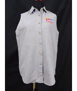 Nascar Racing Houndstooth Pattern Sleeveless Shirt Medium Women's - $17.95