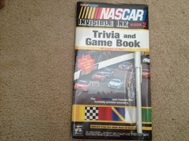 Nascar Invisible Ink Trvia & Game Book 2 [Paperback] Lee Publications - $7.59