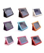 NEW PORTFOLIO FOLDING LEATHER STAND CASE FUNCTION FOR IPAD 2 3 4 - $6.49