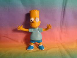 Vintage 1990 Jesco The Simpsons Bart Bendable Rubber Figure - as is - da... - $1.93