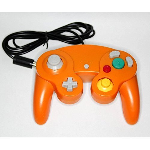Nintendo GameCube & Wii Replacement Controller Orange By Mars Devices