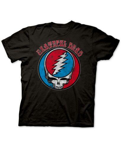 Ripple Junction Grateful Dead Men's Graphic T-Shirt (Black, X-Large)