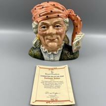 Royal Doulton Fortune Teller D6874 Character Jug Of The Year 1991 COA - $148.49