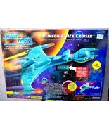 Star Trek The Next Generation Klingon Attack Cruiser - $53.96