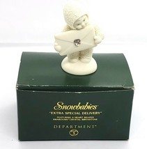 """Snowbabies """"Extra Special Delivery"""" - 2000 - April: Diamond Excellent w/Box - $19.79"""