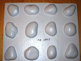 #OOR-05 River Rock Molds 12 Make 100s of Cement Stones For Walls For Pennies Ea. image 10