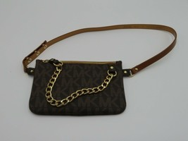 Brand New Trending Michael Kors MK Fanny Pack Belt Bag with Pull Chain - $44.99