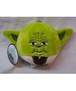 HALLMARK FLUFFBALLS Star Wars YODA PLUSH BALL ORNAMENT Stuffed Animal To... - $14.85