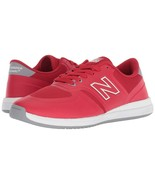 MENS NEW BALANCE NUMERIC 420 SKATEBOARDING SHOES RED WHITE  (RED) - $71.99