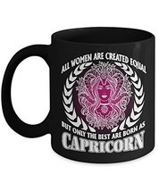 Capricorn Mug - Zodiac Coffee Mug For Travel or Drink Tea, Beer - Cute Constella - $14.95