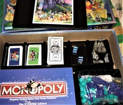 Monopoly -The Disney Edition - Property Trading Game From Parker Brothers -2001 image 7
