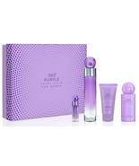 360 Purple Women 3.4oz EDP & 4oz BM & 2oz Cream & .25OZ Gift Set - $45.99