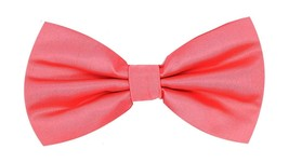 Oliver George Solid Bow Tie (Coral) 1010-A - $15.35