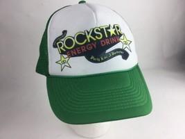 Rockstar Energy Drink Hat Trucker style foam made By Nissun - $14.72