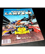 NATIONAL LAMPOON Magazine April 1981 Good CHAOS ISSUE Formula 1 Race Car... - $17.99
