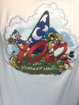 Walt Disney World 100 Years Of Magic L T-Shirt Mickey Pluto Goofy Donald Duck - $23.21