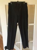 Perry Ellis Dress Pants Mens 30 Inch Waist Black - $16.99