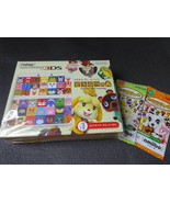 NEW NINTENDO 3DS Console Animal Crossing Kisekae Plate Pack Happy Home - $243.10