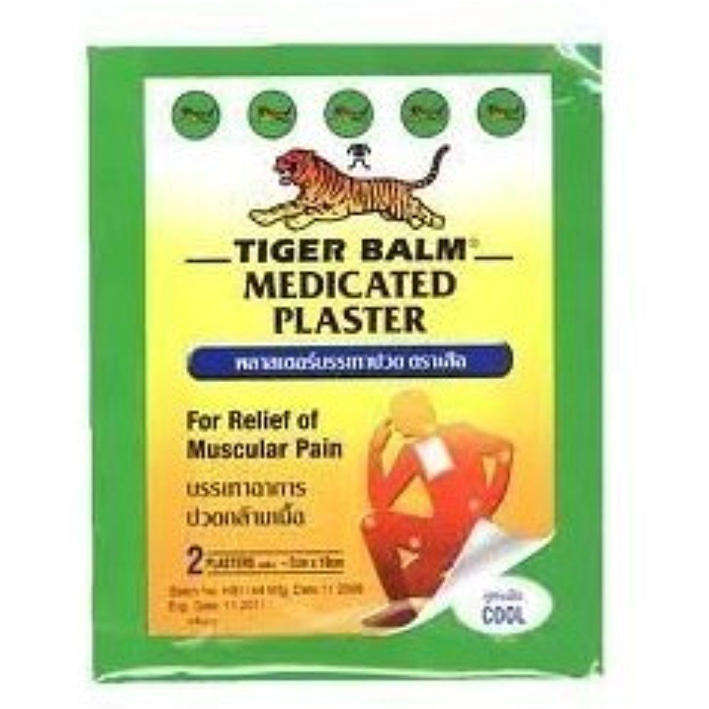 10 Plasters Tiger Balm Patch Plaster Cool And 50 Similar Items Balsem Oil 57