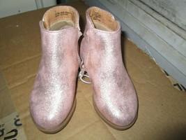 Toddler Girls Etoile Metallic Ankle Fashion Boots size 7 New - $13.50
