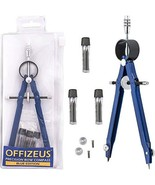 OFFIZEUS Professional Compass for Geometry with Extra Lead Refills - Mak... - $7.26