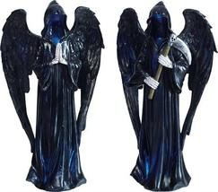 "Grim Reaper Death Set of 2 Light Up Halloween Figurine 12"" H - $26.73"
