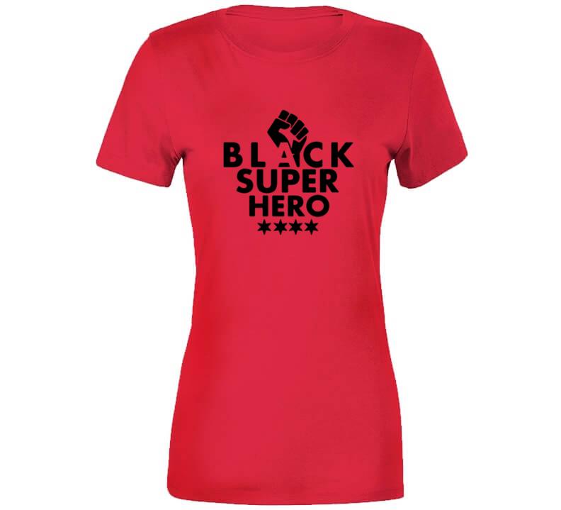 Black Super Hero - Cocoa T Shirt