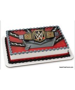 WWE Wrestling Cake Decoration Party Supplies TOPPER KIT Favor WWF Ring B... - $10.95