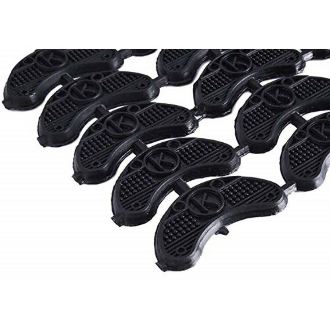 Heel Plates Boots Shoes Taps Tips Sole Repair Protector Replacement Pads Cowboy  image 2