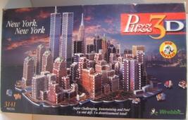 New York Puzz 3D 1997 Wrebbit 3141 Piece Puzzle - Unsure If Complete - $99.92