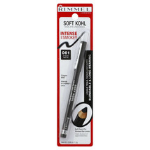 Rimmel London Soft Kohl Kajal Eye Liner Pencil Jet Black 061 0.04 oz NEW... - $9.54