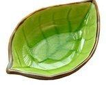 4 PCS Creative Dishes Multi-purpose Tableware Relish Dishes Leaves Green