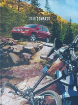 2015 Jeep COMPASS brochure catalog US 15 Limited Latitude Sport - $6.00