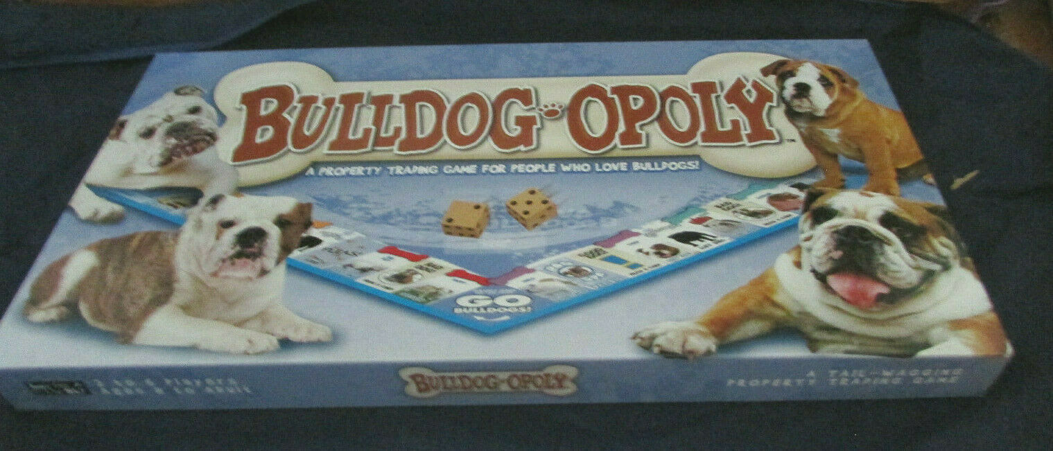 Primary image for Late for the Sky Bulldog-Opoly BulldogOpoly Monopoly Board game Complete EUC