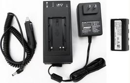 Adirpro Geb211 Li Ion Batería y Cargador para Leica Rx1200 Controlador A... - $160.35