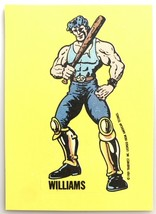 Williams Double Dragon #29 1989 Nintendo Topps GamePack Sticker Cards - $3.95