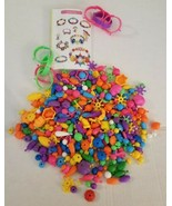 Fun Artsy Activity Pop Beads Snap Jewelry Making Crafts Toy Kids Children - $10.88