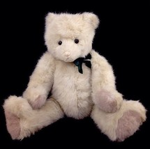 """Vintage 1986 Gund Collectors Classic Limited Edition White Tinker Teddy Bear 20"""" - $23.47"""