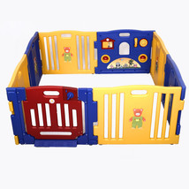 Baby Playpen Kids 8 Panel Safety Play Center I... - $114.93