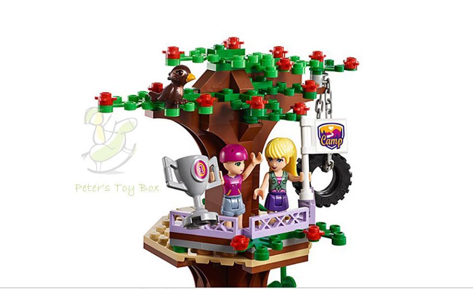 739 PCS Girl Friends Adventure Camp Tree House Building Blocks Girls Toys
