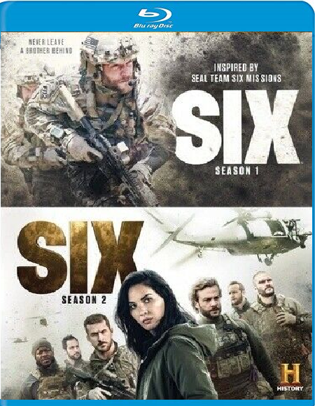 Six Season 1 And 2 [Blu-ray + DVD, 2018]