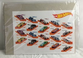 Hot Wheels Sheet of 20 Forever USPS First Class Postage Stamps NIP - $25.65