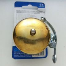 Brass Bike Bicycle Bell dome 55mm fits Standard Handlebars NOS - $39.60