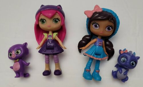 Primary image for Little Charmers Doll & Pets Animal Lot Figures Spin Master Posie Lavender Hazel