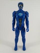 "Power Rangers Movie (2017) Blue Ranger Action Figure 12"" - Used - $16.48"