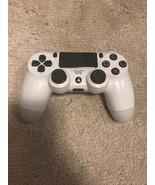 Sony PlayStation PS4 Dualshock 4 Controller CUH-ZCT1U - WHITE glacier  - $16.73