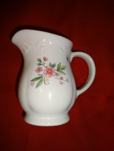 Pfaltzgraff Meadow Lane Pattern Sugar Bowl & Creamer Set Cream Pitcher - $12.00