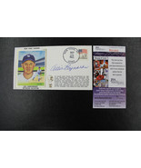 Yankees ALLIE REYNOLDS 35th Anniversary No-Hitter AUTO 1986 Cachet/Envel... - $39.59
