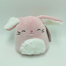 "Squishmallows Bop Bunny Rabbit Pink 5"" Easter Stuffed Animal Kellytoy NWT - $13.99"